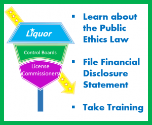 Liquor Control Boards/License Commissioners Learn About the Public Ethics Law